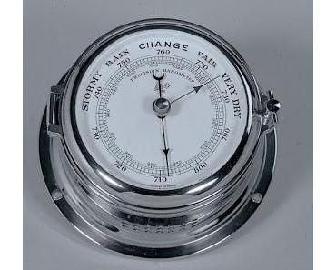 Direkt aus Dänemark: Hoch präzise maritime Barometer, Thermometer, Hygrometer, Tidenuhren und vieles mehr