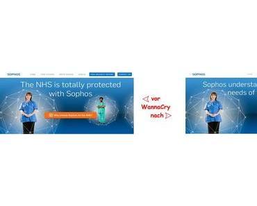 Sicherheitsanbieter Sophos und seine NHS-Referenz