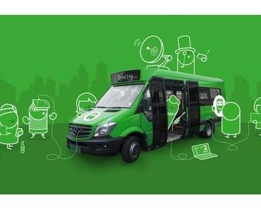 Transport App Citymapper testet smarten Bus in London