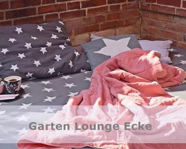 Garten Lounge Ecke Gartenbett