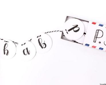 DIY kleine Aufmerksamkeit in einer Streichholzschachtel mit Pilot Pen* + Give Away
