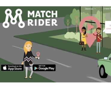 Carpooling Dienst MatchRiderGo startet wieder