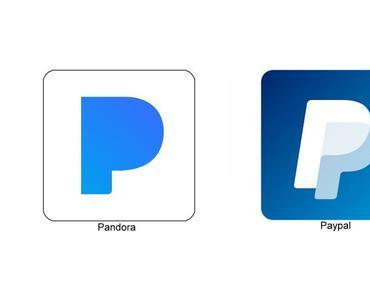 Logo-Krieg zwischen Paypal und Pandora