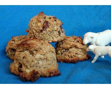 Erdnussbutter-Schoko-Cookies (5 Zutaten!)