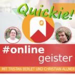 Snapchat und Prezi — #Onlinegeister Quickie (Social-Media-Podcast)