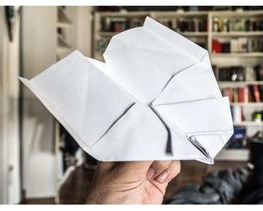 Tag des Papierfliegers – der amerikanische National Paper Airplane Day