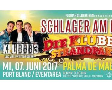 Die KLUBBB3-Strandparty – Künstler bestätigt