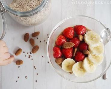 {Clean Eating Basics} Mandel Vanille Porridge