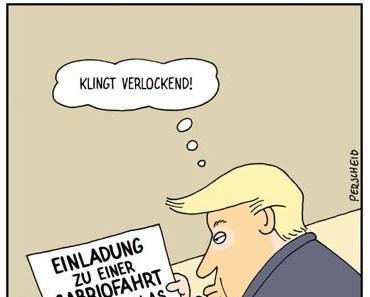 Einladung für Donald Trump!