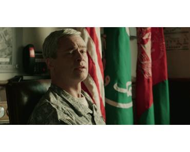 Grimassen schneiden in Spielfilmlänge in WAR MACHINE mit Brad Pitt