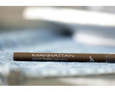 """[Haul & Swatch] Manhattan Brow'Tastic Fibre Pencil  002 """"Medium Brown"""""""