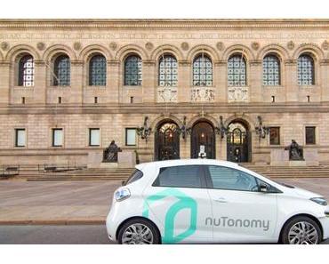 Selbstfahrende Taxis: Lyft kooperiert mit NuTonomy