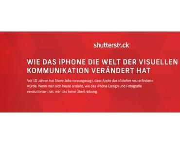 Shutterstock feiert 10 Jahre Apple iPhone