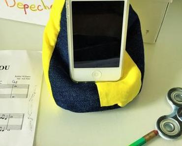 Handy Sitzsack: Denn auch ein Handy muss mal ruhen!