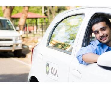 SoftBank will Ola zum Automobilhersteller für Elektroautos entwickeln