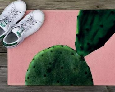 Plants & Colour: Wie du eine DIY Fußmatte selber machst