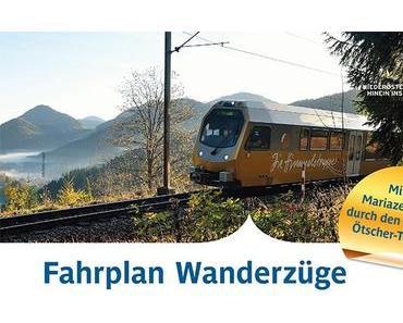 Fahrplan Wanderzüge Mariazellerbahn