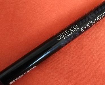 (Review) Catrice Eye'Matic Eyepowder Pen 070 Aubergenius + 8x4 beauty perfume deodorant + Gewinnspielauslosung :)