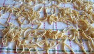 Pasta trocknen aufbewahren
