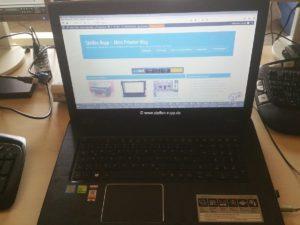 Neuer Laptop, weiter gehts!