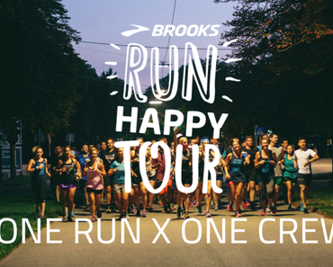 Brooks Run Happy Tour Event in Berlin – Laufen mit dem Brooks Deutschland Team