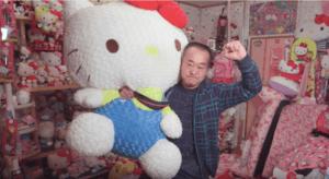 weltweit größte Hello Kitty Sammlung