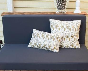 Flambierte DIY Sitzmöbel aus Paletten! Der einfache und günstige Weg zur eigenen Lounge im Garten