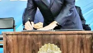 sich brasilianischer Präsident nicht alles hergibt