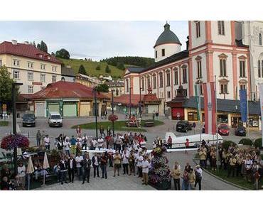 Eröffnung Segelflug-Staatsmeisterschaften in Mariazell