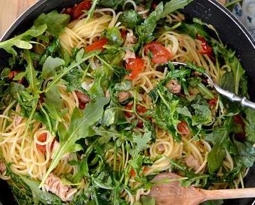 Simple Tuna Pasta nach Jamie Oliver