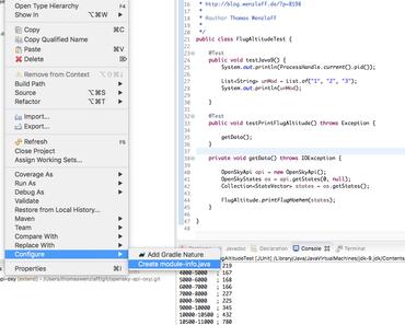 Java 9: Erste Modul Generierung modul-info.java mit Eclipse —> beta for Oxygen!