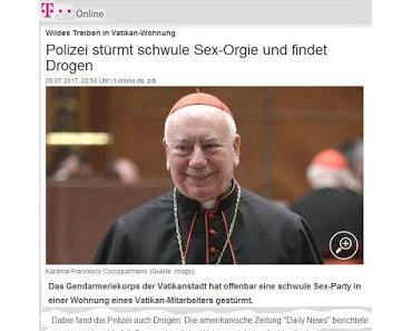 Vatikan: Sex mit Frauen ist pfui, Sex mit Männern hui