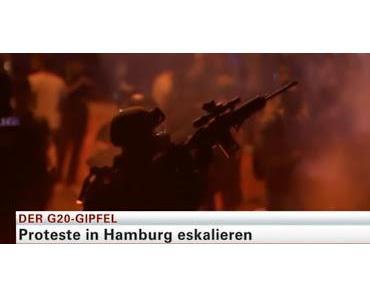 G20: Durch den Einsatz von Sondereinheiten konnte Mord an Polizisten verhindert werden