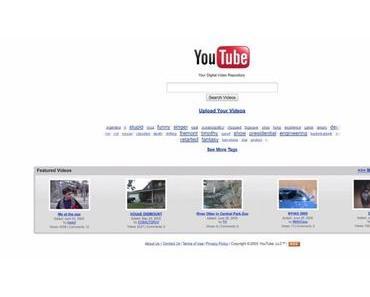So hat sich das Layout von Youtube in den letzten 12 Jahren verändert