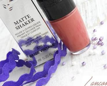 Lancome  Matte Shaker - 270 Beige Vintage - Liquid Lipstick