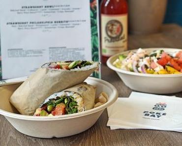POKÉ BAY – neue Sushi-Burritos im Sortiment - + + + neben Bowls gibt´s jetzt auch köstliche Sushi Burritos ++ jede Bowl als Burrito möglich + + +