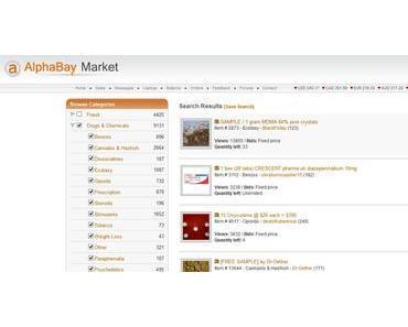 Darknet-Shop AlphaBay geschlossen