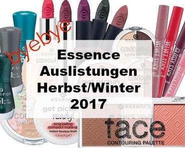 essence Auslistungen Herbst/Winter 2017