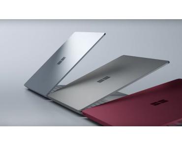 Das Surface Laptop ist der neue Zuwachs in der Surface Familie
