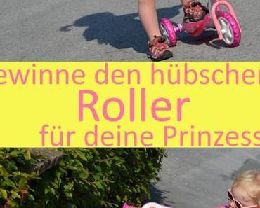 Gewinnspiel: süßer Disney Princess Roller von Smoby