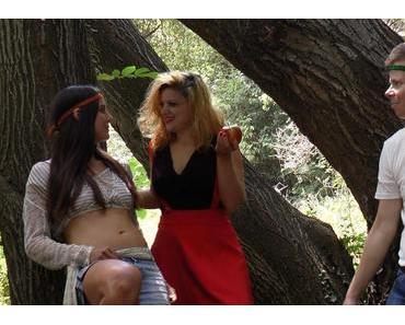 Bei den Dreharbeiten zu Satan's Girls von Robert Tarantino