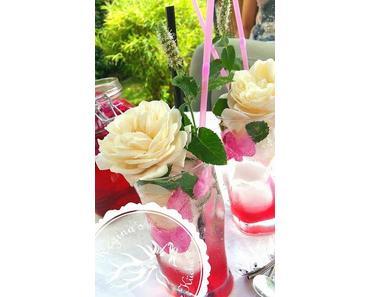 Rosenblüten Mojito - Zauberhaftes Summerfeeling aus dem wilden Rosengarten