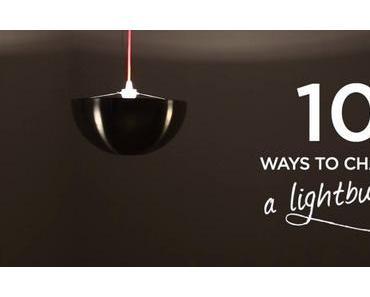 Videotutorial: 10 selbstgebaute Lampen