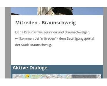 """Braunschweig – Neues Bürgerportal """"Mitreden"""" am Start"""