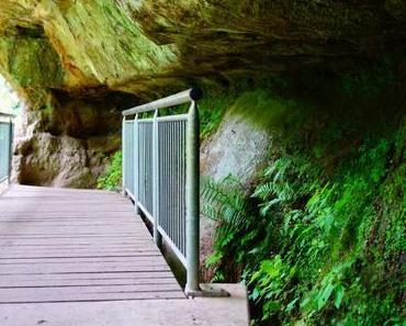 Wanderung: Schwarzachklamm und Brueckkanal