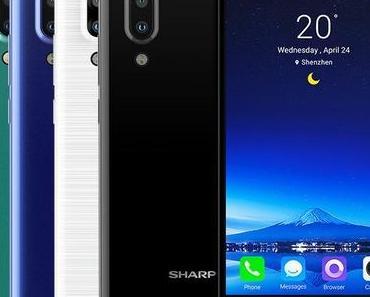 Sharp Aquos S2: Neues Smartphone mit fast rahmenlosen Design vorgestellt