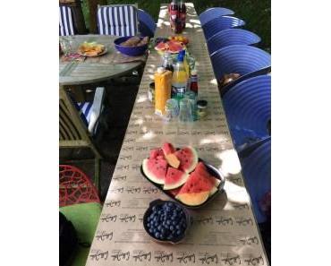 Lothar John Inside: Sonne satt beim Sommerfest