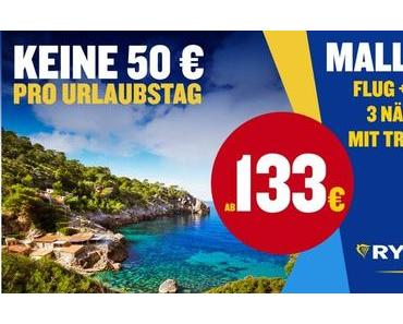 Flug, Hotel, Transfers: Keine 50 Euro pro Urlaubstag Ryanair Holidays legt 20 000 Mallorca-Reisen zum Schnäppchen-Preis auf