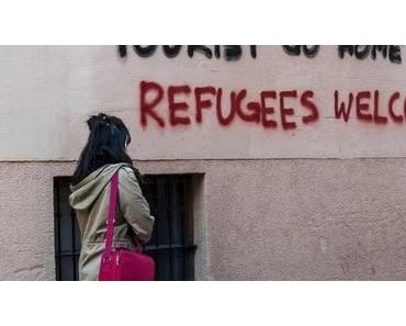 Gegner des Massentourismus haben auf Mallorca mit einer neuen Aktion Aufsehen und Unmut erregt.