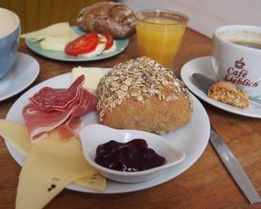 Frühstücksbuffet im Café Lieblich